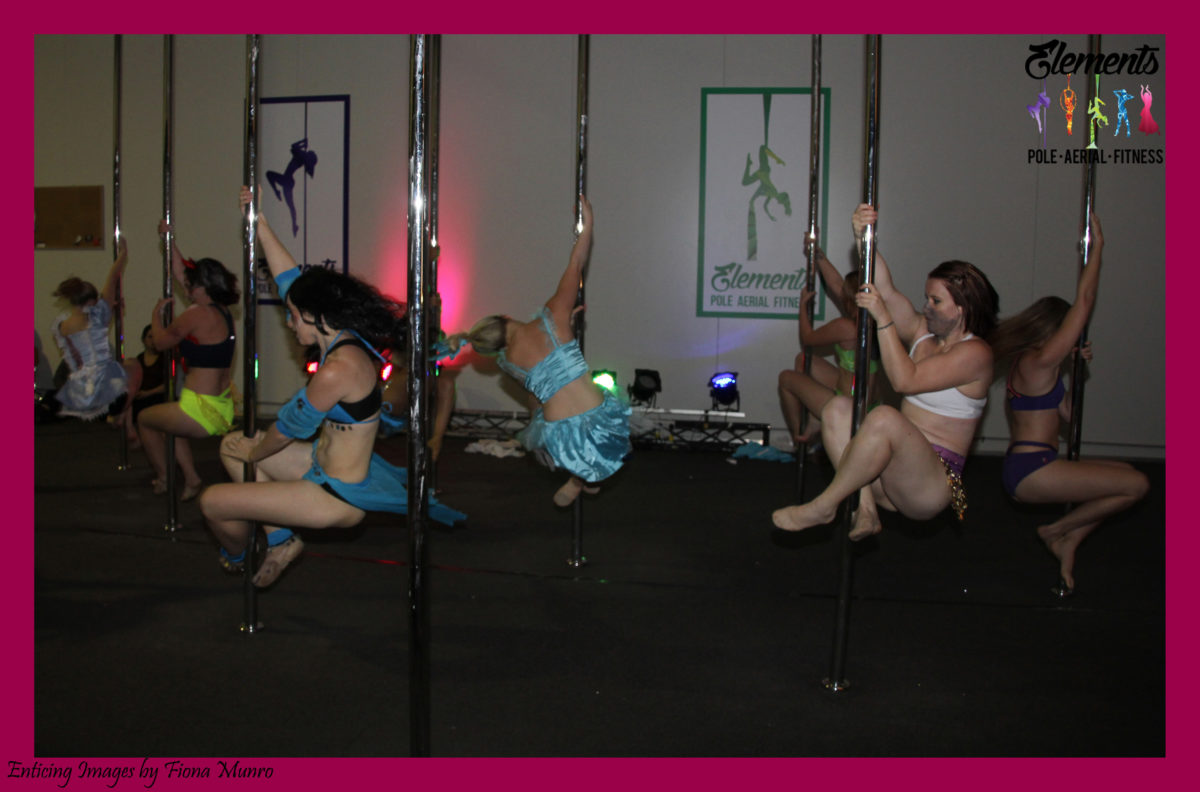 Pole Dancing Christmas Party